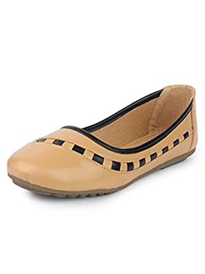 YAHE Women's Casual Italy Napa Belly Shoes Y-2265