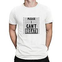 Negro Vive la Materia-I No Puedo Respirar Hombres Mujer Libertad Civil Derechos Tops Camiseta Corto Manga Blusas 5-Styles / A3 / 3XL