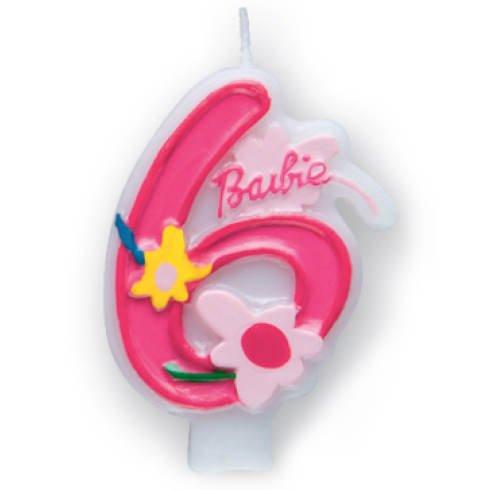 Zahlenkerze-6-Barbie-Chic-3D
