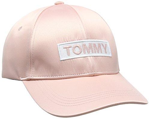 Tommy Hilfiger Damen Baseball Tjw Satin Cap, Pink (Mahogany Rose 646), One Size