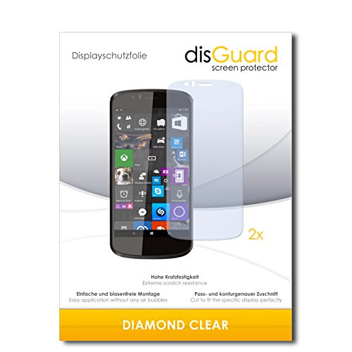 2 x disGuard® Bildschirmschutzfolie Archos 50 Cesium Schutzfolie Folie