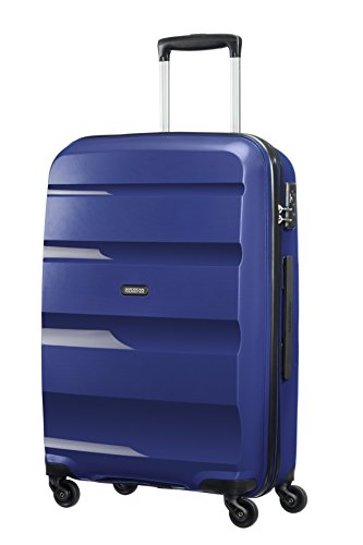 American Tourister Bon Air Spinner M Maletas y trolleys, 66 cm, 53 L, Azul...
