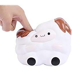 1pcs Squishy Oveja Sheep 13cm Colosal Jumbo Squishies Súper Lento Rising perfumado Lindo Kawaii Collection Regalo Decoración del Partido de Juguete para niños niños Adultos