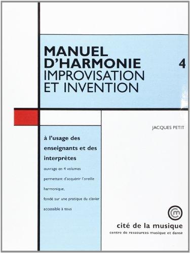 Manuel d'harmonie vol 4