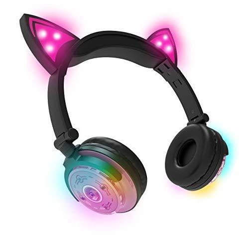 EKIDS hy-btcat-EU-pnk Auricular Bluetooth Rosa