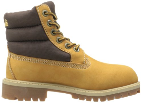 Timberland 6 In Classic Boot Ftc, Boots mixte enfant Marron (Wheat)