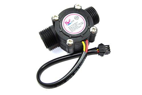 Hall Effekt Durchflussmesser yf-s201Hydrokultur Wasser 0–30lpm Arduino PI