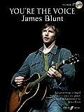 YOU RE THE VOICE - arrangiert für Songbook - mit CD [Noten/Sheetmusic] Komponist : BLUNT JAMES
