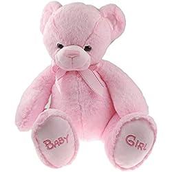 Hermoso Super suave oso de peluche niña niño 35cm bebé