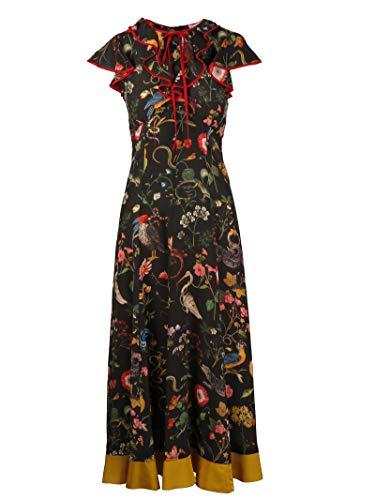 Red Valentino Damen Qr3va7803tt0no Multicolour Polyester Kleid