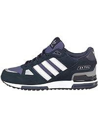 new style 18035 d913f Herren Navy Blau Weiß Adidas Originals ZX 750 Streifen Wildleder Turnschuhe