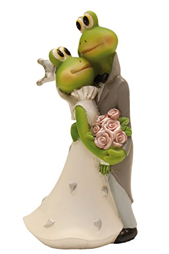 """Brautpaar \""""Frosch küssend\"""""""