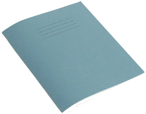 RHINO 'VEX342-354-4' F8M 200x165 48 Page Exercise Book - Light Blue (Pack of 10)