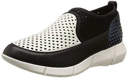 Calvin Klein Winona, Sneakers Hautes femme Blanc (Pwg/Neoprene Perf/Mini Hexa)