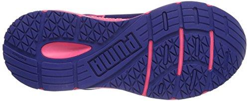 Puma - Sequence W, Scarpe da corsa da donna (Blue/Pink/White)