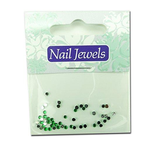 Eigenart Nail Art strass en acrylique – Vert clair