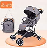 Tumama Multi-Functional Foldable Lightweight Aluminum pram Baby Stroller - Makes it Easy