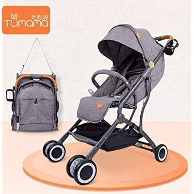 Tumama Multi-Functional Foldable Lightweight Aluminum pram Baby Stroller - Makes it Easy for You to Travel