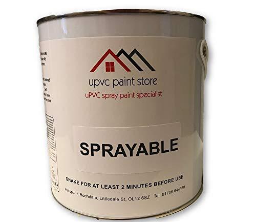 PVC Spray Paint 1L - PVCU, UPVC Ready to use Window, Door, Plastic
