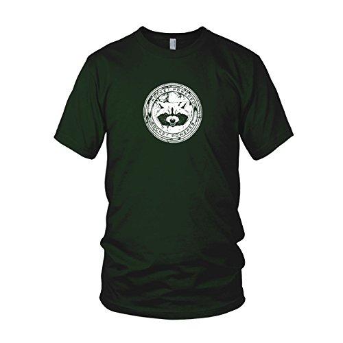 Rocket Powered - Herren T-Shirt, Größe: XL, Farbe: (Kostüm Herren Drax)