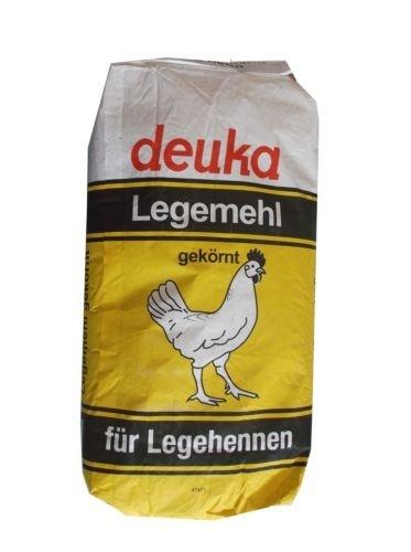 25kg deuka LegeKorn, Legemehl gekörnt, Ergänzungsfutter für Legehennen