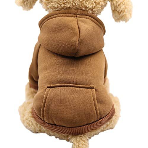 Topker Herbst-Winter-HundeHoodie Zurück-Taschen-Entwurf Hunde-Bekleidung Sport-Art-Hundekatze-Haustier Warm Sweatshirt Eine Art Sweatshirt