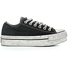 a3c457259350 Amazon.it  converse all star platform donna - Nero