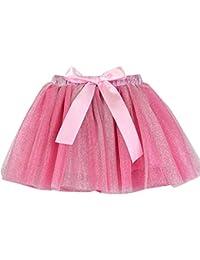 INNEROSE Gonna Tulle Bambina Ragazza Abiti Festa Vestito da Matrimonio Mini  Tutu Danza Gonne Principessa Sottoveste ed889ee027b