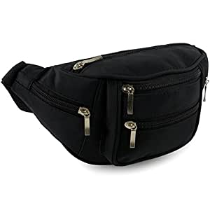 Quality Bum Bag with 6 Zipped compartment