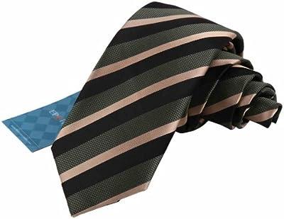 EAE1A05 multicolores de seda para hombre flaco de rayas corbata regalo para las fiestas Por Epoint