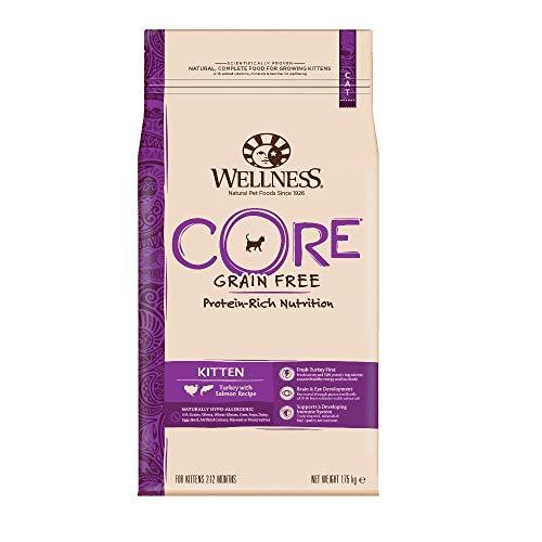 Wellness CORE Kitten Trockenfutter Getreidefrei, für Kätzchen, Hoher Fleischanteil, Pute und Lachs, 1,75 kg
