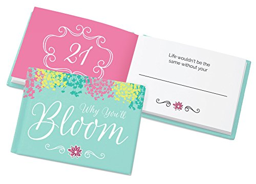 Bloom Daily Planners'WHY you' ll Bloom libro' fill in the Blank Inspirational Gift Book