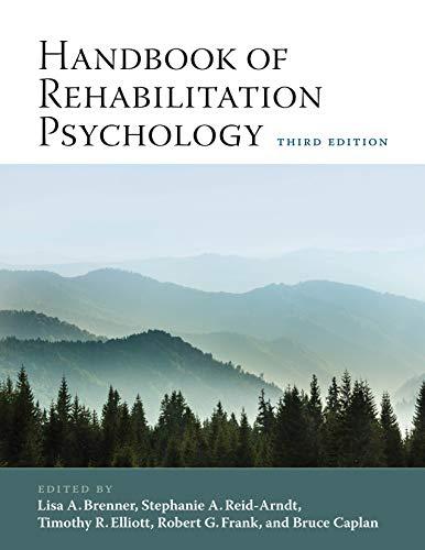 Handbook of Rehabilitation Psychology