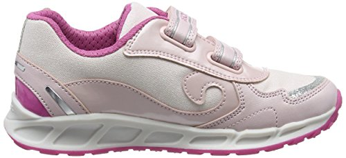 Geox Mädchen J Shuttle Girl B Low-Top Pink (Pink/fuchsiac0799)