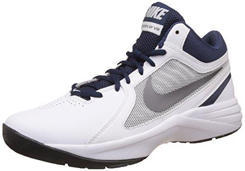 Nike - 637382 106, Sneakers da uomo Multicolore (Blanco / Gris / Azul (White / Mtlc Dark Grey-Mid Navy))