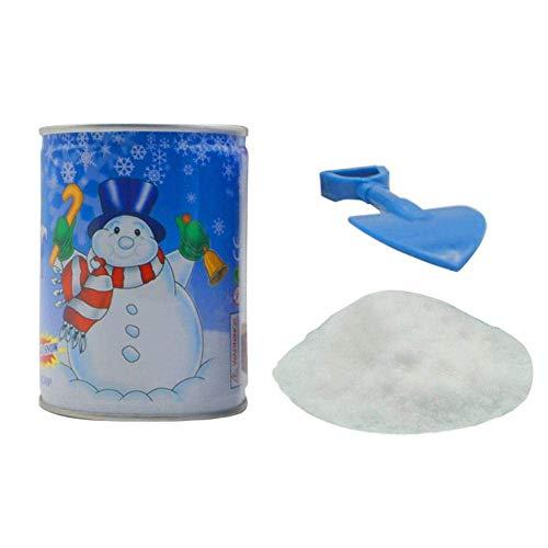Preisvergleich Produktbild Ficony Man Fake Snow Powder,  Insta-Snow Jar,  Man-Made Fluffy Snow Instant for Home Christmas Decoration DIY