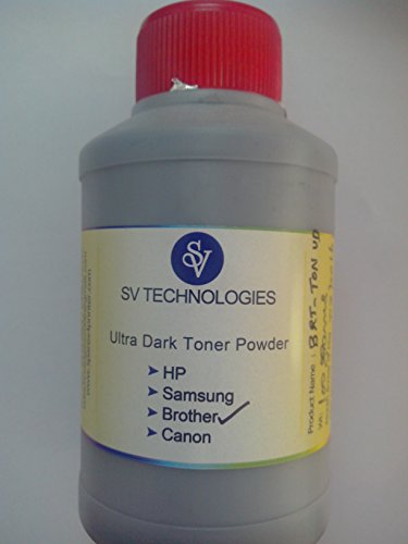 Brother Toner Powder Toner Refill Toner 100g For Brother 2130 2220 2240 2250 2890 2990 7057 7060 7290 7460 7470 7860 7360 7055 100grams X 3 Bottles