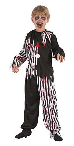 Bristol Novelty cf062Harlequin Clown Bloody (L), große 134cm bis (Clown Halloween Kostüm Schuhe)