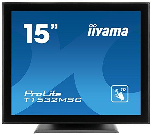 iiyama T1532MSC-B5AG Monitor 15 Zoll LED Schwarz
