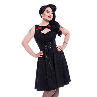 Poizen Industries Kleid Adina Dress Schwarz XL