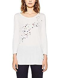 edc by Esprit, T-Shirt à Manches Longues Femme
