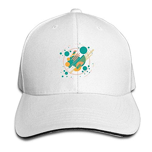 Jxrodekz Geometric Pattern cap Unisex Low Profile Baseball Hat WF7110