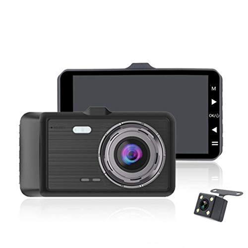 HD Externe ziehen vorne und hinten Dual Lens Driving Recorder 4-Zoll-Display Parküberwachung Umkehr visuelle Autokamera (Farbe: B) H. 264 Dvr-board