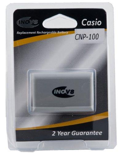 Inov8 Li-ion Ersatz-Akku für Casio CNP-100 Kamera