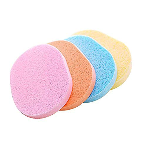 Stonges 10pcs spugna detergente salviette umidificate schiuma detergente make up tipo spugna per il lavaggio viso puff flutter wet and dry usa