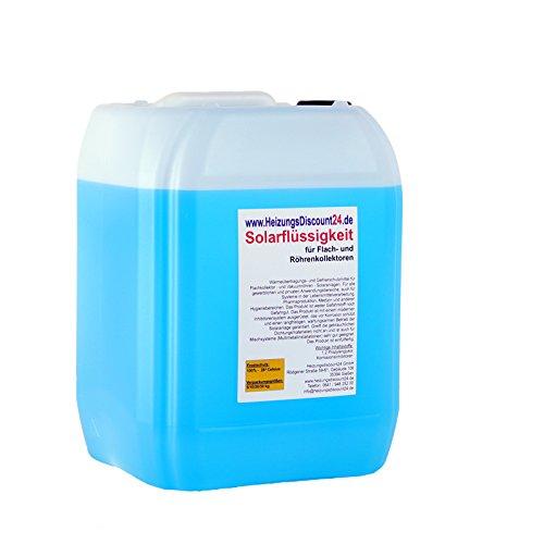 10 Liter Solarflüssigkeit bis -28°C Frostschutz, Solarfluid, Solarliquid, Wärmeträgermedium