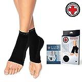 Dr. Arthritis Doctor Developed Copper Foot Sleeves/Plantar Fasciitis Socks (Pair) Doctor Written Handbook