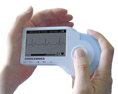 Wahl Medd MD100B Farbe tragbar Handheld ECG EKG-Herz Monitor Deluxe-Set