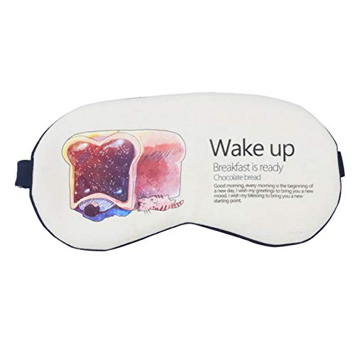 Brille schlafenVerdunkelungsbrille Eis Männer und Frauen schlafenKarikatureinen Eisbeutel Ohrstöpsel senden Fantasie Brot Fantasy-brot