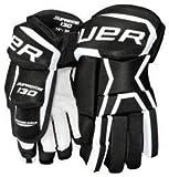 Bauer Supreme 130 Handschuhe Senior, Größe:14 Zoll;Farbe:schwarz/weiß